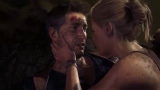 Uncharted 4: A Thief's End - All Nathan Drake & Elena Kiss / Love Scenes