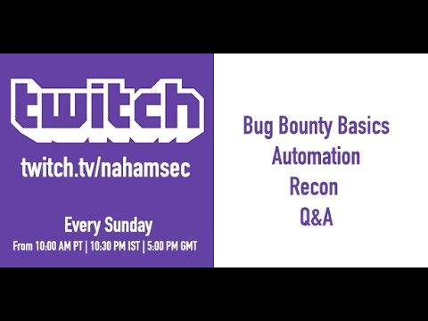 Live Bug Bounty Recon Session on Yahoo (Part 1 - 7/14/2019