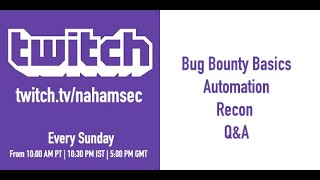 Live Bug Bounty Recon Session On Yahoo (part 1   7/14/2019)