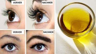 So werden deine Augenbrauen und Wimpern innerhalb kürzester Zeit dicker und dichter!