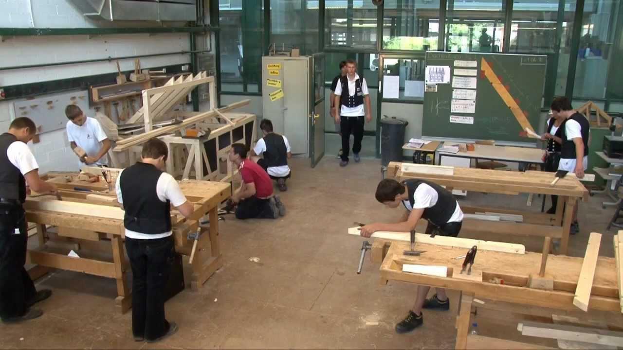 Extrem Zimmerer (ein Beruf mit Zukunft) ein Imagefilm der Berufsschule DX51