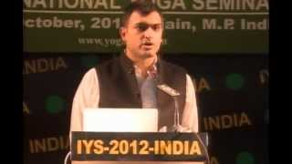 DR VIKRANT S TOMAR, 'YOGIC LEADERSHIP...' IN IYS-2012