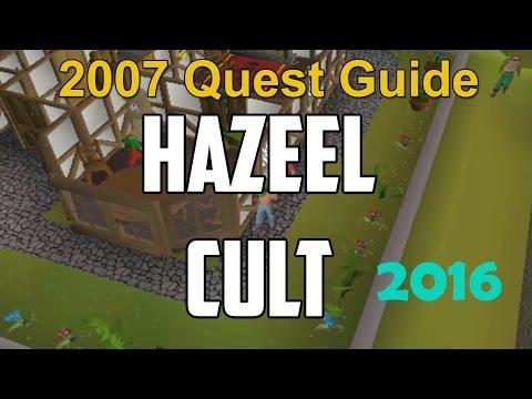 Runescape 2007 Hazeel Cult Quest Guide