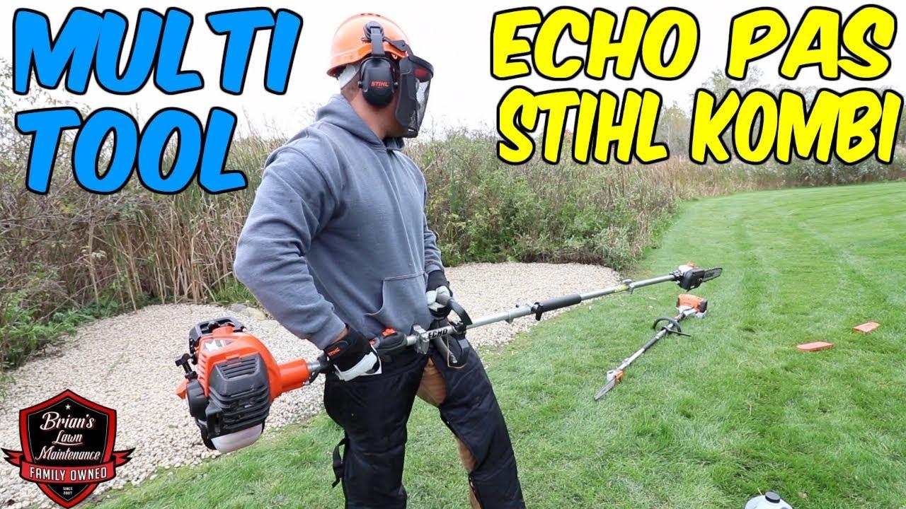 Putting The Pole Saws To Work ► Testing The ECHO PAS & STIHL Kombi Systems