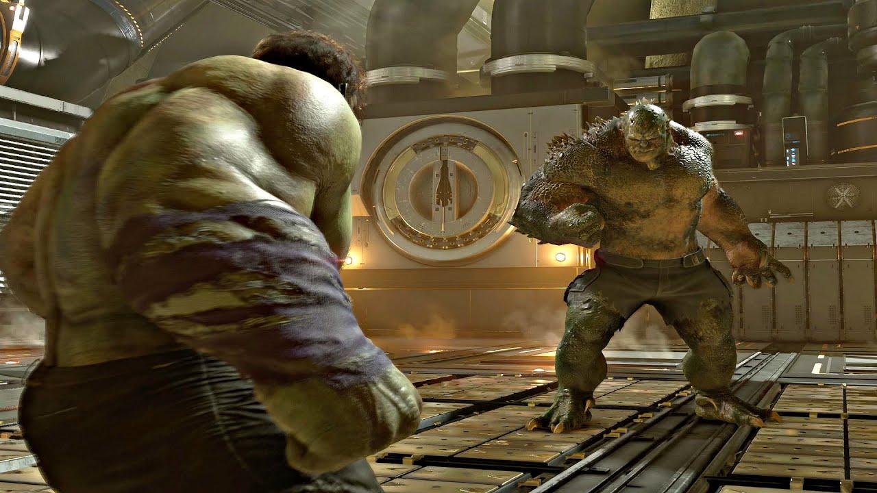 Download MARVEL'S AVENGERS Hulk Vs Abomination Boss Fight (PS4 Pro)