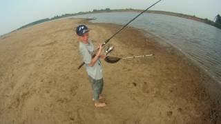 видео рыбалка летом фидер на вятке