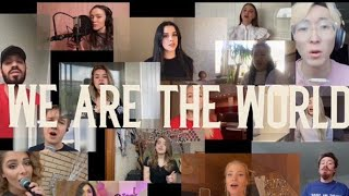 We are the world. 21 артист.1 причина. 1 песня