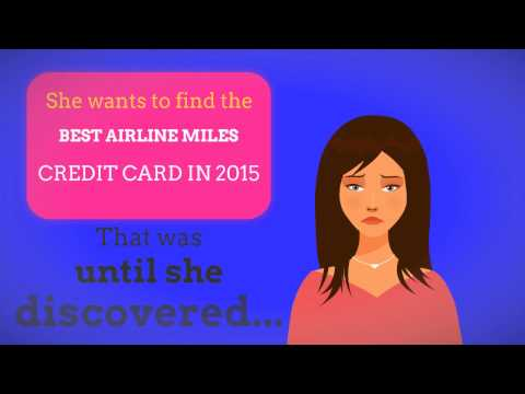 BEST AIRLINE MILES CREDIT CARD IN 2015 - LEARN BELOW! - YouTube