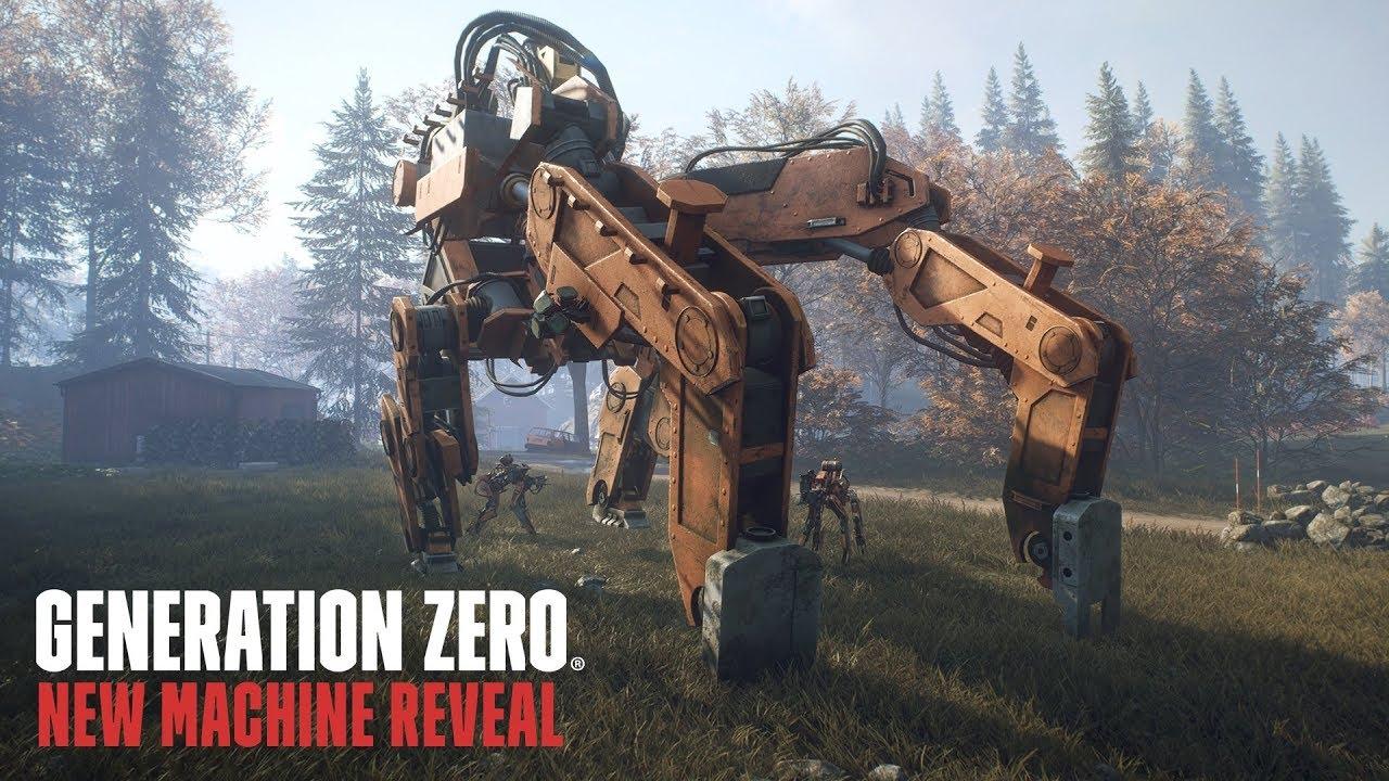 Появился час геймплея шутера Generation Zero на движке Rage 2. В игре есть открытый мир и музыка 80-ых