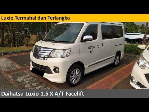 Daihatsu Luxio X A/T Facelift review - Indonesia