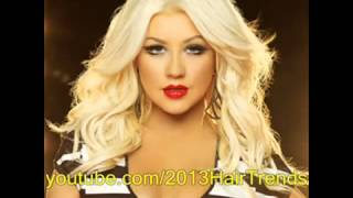 2013 Christina Aguilera New Hairstyle and Pink Hair Color