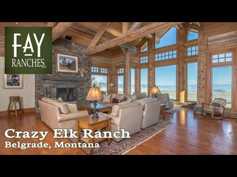 Montana Home For Sale | 9,690± SF | Crazy Elk Ranch | Belgrade, MT