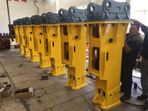 Hydraulic Breaker Manufacture In Yantai , China