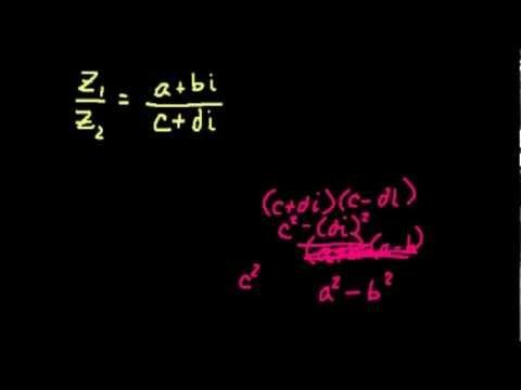 Комплексные числа (Часть 1)