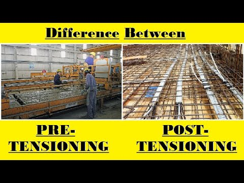 Pre Tensioning VS Post Tensioning