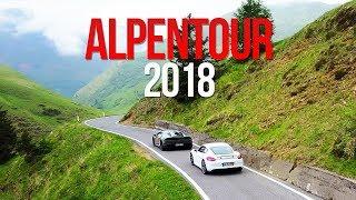 Meine Alpentour 2018 mit 10 Sportautos, wer will mit?