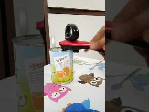 How To Use All New Tupperware Can Opener Youtube