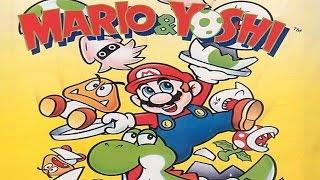 Mario & Yoshi - NES - Gameplay Comentado em Português