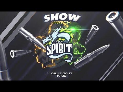 😈 ШОУ МАТЧ! СТРИМЕРЫ YouTube Gaming VS TEAM SPIRIT 😈