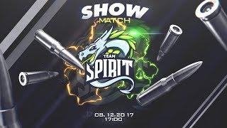 Video 😈 ШОУ МАТЧ! СТРИМЕРЫ YouTube Gaming VS TEAM SPIRIT 😈 download MP3, 3GP, MP4, WEBM, AVI, FLV Desember 2017