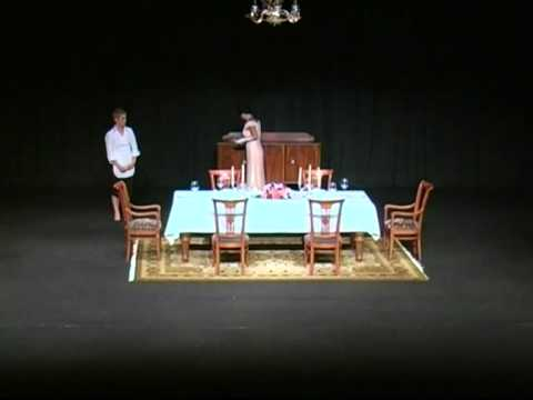The Dining Room by A.R. Gurney produced by Erasitechniko Theatro Kefalonias 2011 - Part 3 of 3 ...
