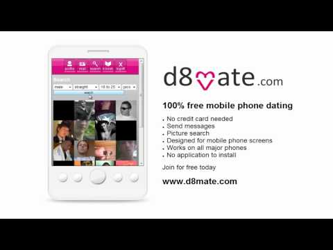 D8mate.com Free Dating For Iphone, Nokia, Blackberry Phones
