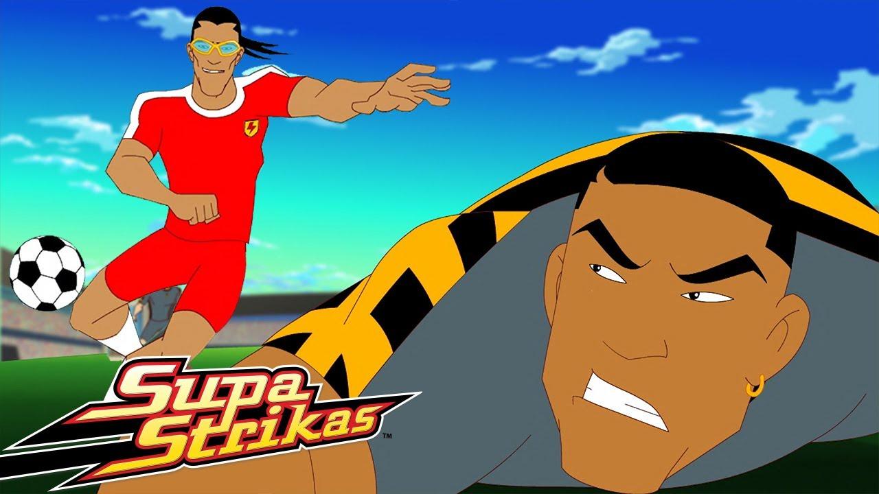 Supa Strikas Vs Invincible United ⚽ | Controlo de Bola | Desenhos Animados de Futebol