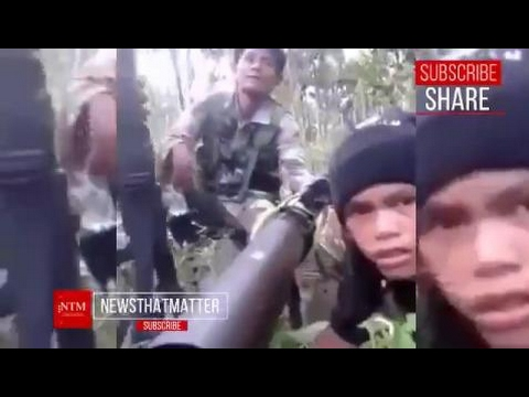 ACTUAL NA BAKBAKAN! ASG VS AFP sa BOHOL! NAKUHANG CELLPHONE VIDEO FOOTAGE GALING sa BANDIDO!