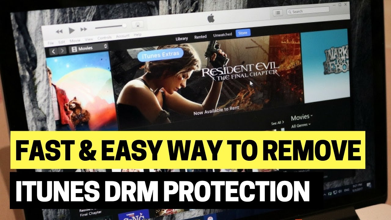 Remove iTunes DRM Protection Using DVDFab 10