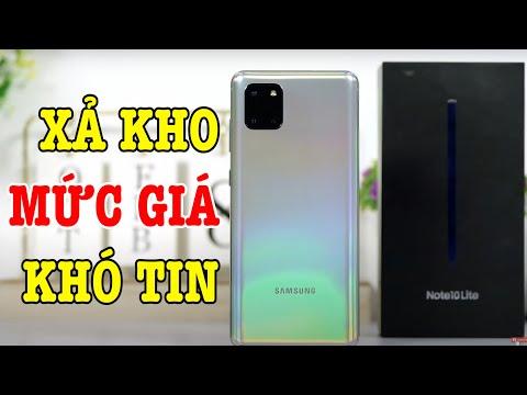 Galaxy Note 10 Lite XẢ KHO CỰC GẮT, vô địch trong tầm giá?