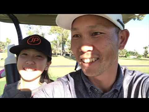 Jin Park golf junior golf lessons and heart warming golf with daughter.