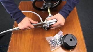 Комплекты SteerFlex Рулевой трос + рулевой редуктор