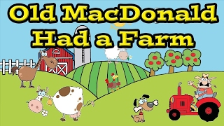 Old MacDonald Had a Farm Song | Kids Learning Videos