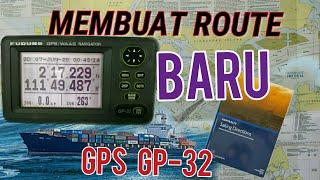 CARA MEMBUAT RUTE BARU GPS GP 32 || UNTUK PEMULA screenshot 5