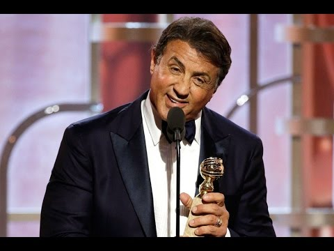 Sylvester Stallone wins 2016 Golden Globe for best supporting actor