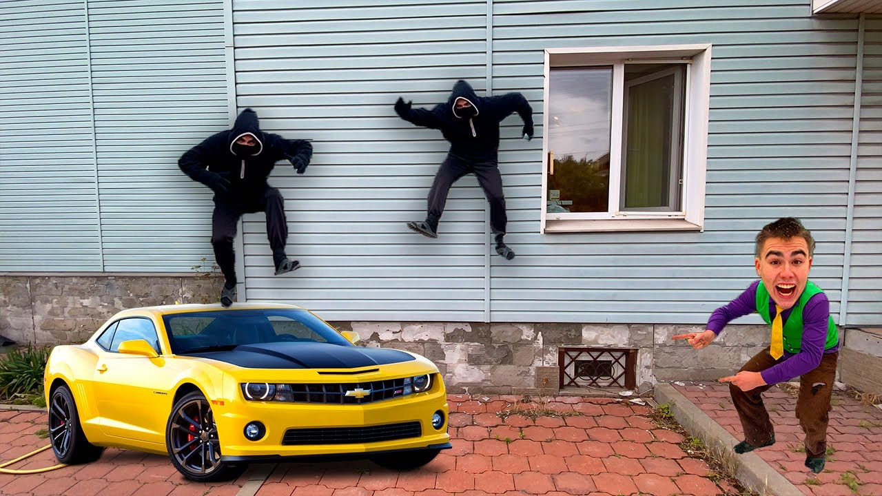 Thief BROKEN into House & STOLE MONEY & Mr. Joe TELEPORTED to Sports Cars in Opel 13+