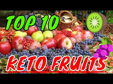 KETO FRUIT: 10 best low carb fruits for the keto diet