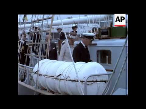 A Ship of Their Own - T S Royalist - 1974