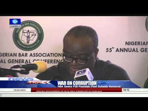 Lawyers Pledge Support For Buhari On War Against Corruption  29/08/15