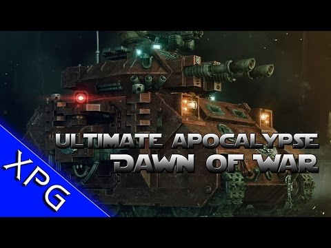 Dawn of War Ultimate Apocalypse Mod! Lets Play with Tabby and CaptainShack