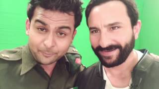 Rangoon Promotion is on Saif Ali Khan with Dr.Sanket as Sanju Baba