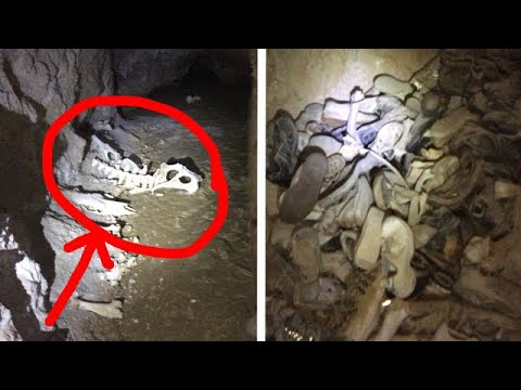 KIDS SHOES AND BONES FOUND IN ABANDONED MINE!!! Mccoy Mine Nevada