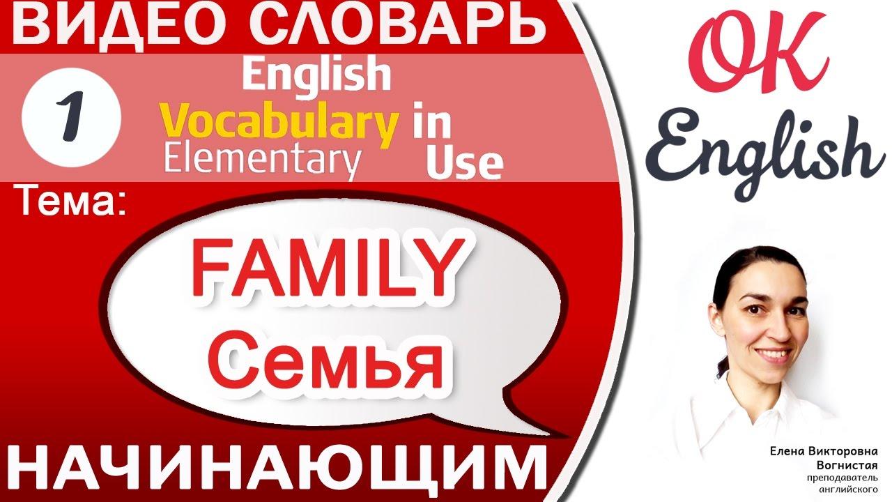 Как написать рассказ о своей семье на английском/About My Family ...   720x1280
