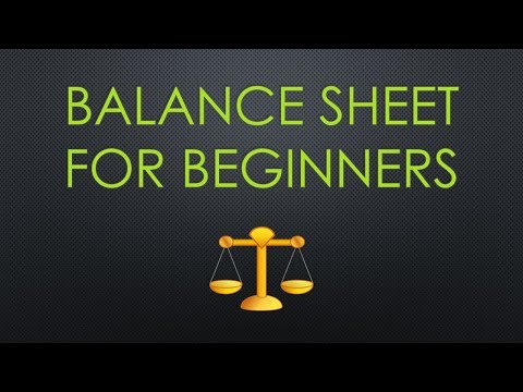 What is a Balance Sheet and How Do I Read One? Researching and Evaluating Stocks