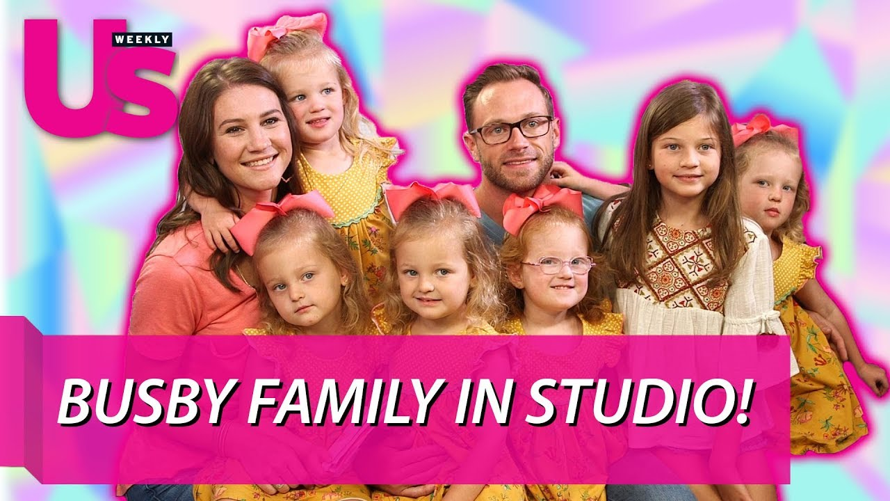 The Busby Family Talks New Season of 'OutDaughtered'!