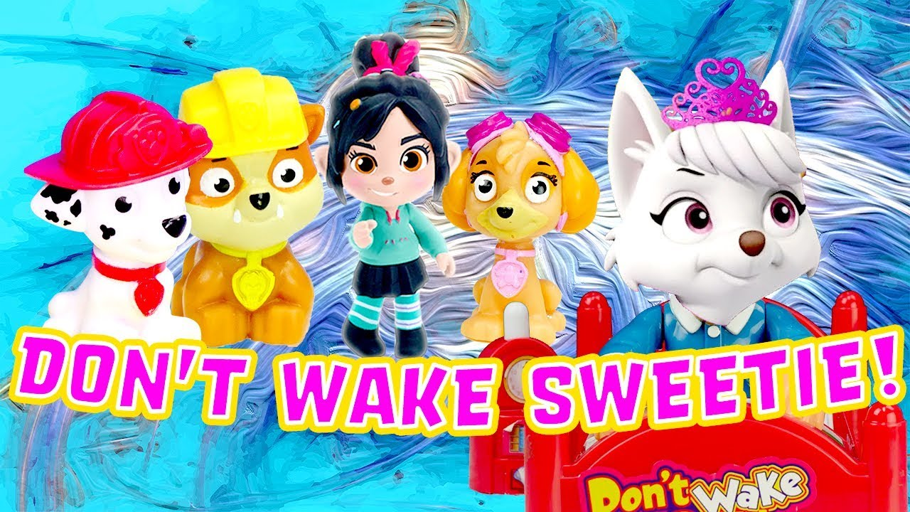 Paw Patrol & UglyDolls Don't Wake Daddy Mystery Game! W/ Skye, Rubble & Moxy image