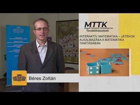 [1150] Interaktív matematika – játékok alkalmazása a matematika tanításában