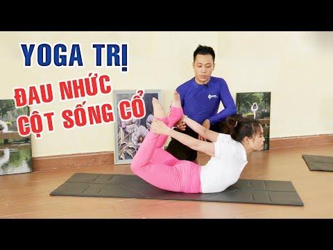 Bài tập yoga trị đau nhức mỏi cột sống, cổ  | Yoga tại nhà Hóng Showbiz