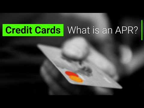 Credit Cards What Is An Apr