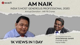 A M Naik - Committed Philanthropist & The Oracle of Indian Engineering
